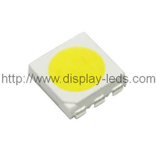 5050 PLCC6 LED SMD superior en blanco